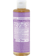 Image of Dr. Bronner's Organic Lavender Oil Pure Castile Soap Liquid
