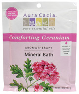 Image of Aura Cacia Comforting Geranium (Heart Song) Mineral Bath