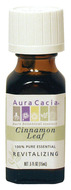 Image of Aura Cacia Essential Oil, Cinnamon Leaf