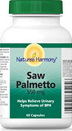 Image of Nature's Harmony Saw Palmetto 550 mg