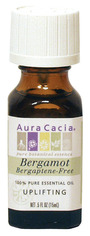 Image of Aura Cacia Essential Oil, Bergamot BF