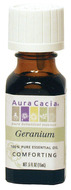 Image of Aura Cacia Essential Oil, Geranium