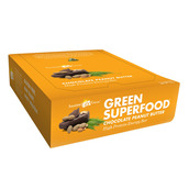Image of Amazing Grass Green Superfood Chocolate Peanut Butter Bar ~ Box of 12