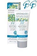 Image of Andalou Naturals Oil Control Beauty Balm Un-Tinted SPF 30