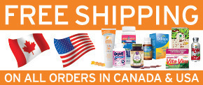 Get free shipping in Canada and USA on all orders