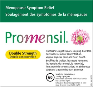 Promensil double strength 60 tablets