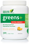 Genuine Health extra energy natural orange