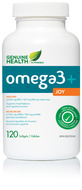 Genuine Health omega3 joy 120c