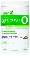 Image of Genuine Health vegan greens+ O, Acai Mango