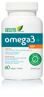 Image of Genuine Health omega3+ JOY