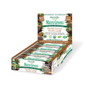 Image of MacroLife Naturals Macro Greens Bars Chocolate Cinnamon ~  Box of 12