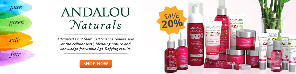NEW Andalou 20% off