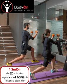 Descubre el poder de electro-fitness, con una sesión gratis que te regala Body On.