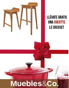 GRATIS, una Coccote Le Creuset por la compra de 2 o más butacas