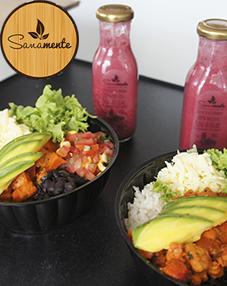 Compra una deliciosa Sana Mexicana + jugo y lleva la segunda a mitad de precio.