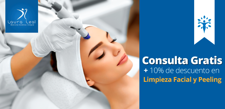 Consulta gratis más 10% de descuento en Limpieza Facial y Peeling