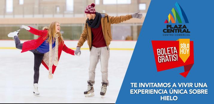 Ven y patina sobre hielo GRATIS