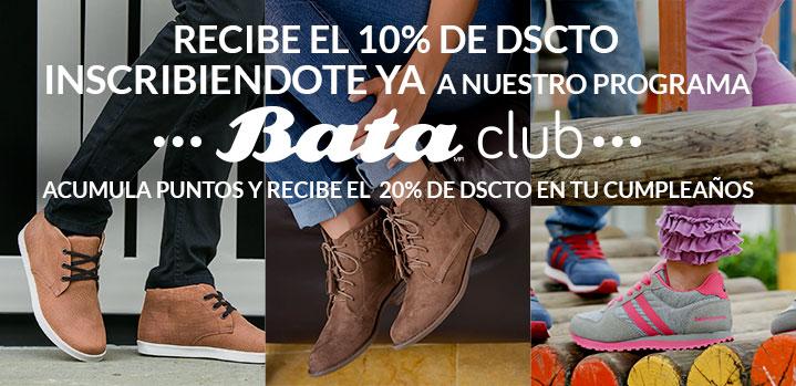 10% de descuento para tu primera compra en calzado Bata