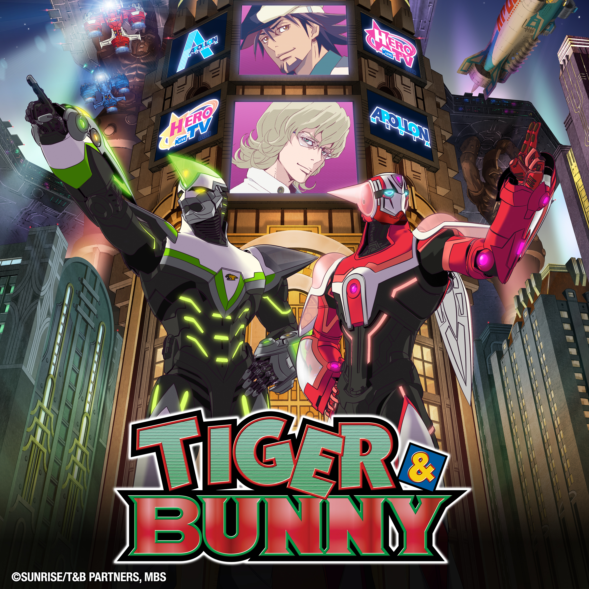 TIGER & BUNNY, Season 1, Vol. 1