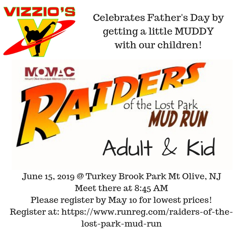 Our Annual Father's Day outing is a fun trip for the whole family!  The coolest mud run to do ALONGSIDE your kids.  This mud run allows the whole family to run TOGETHER.