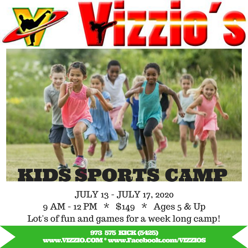 Day camp for kids  One week of fun and sports with friends  Half day
