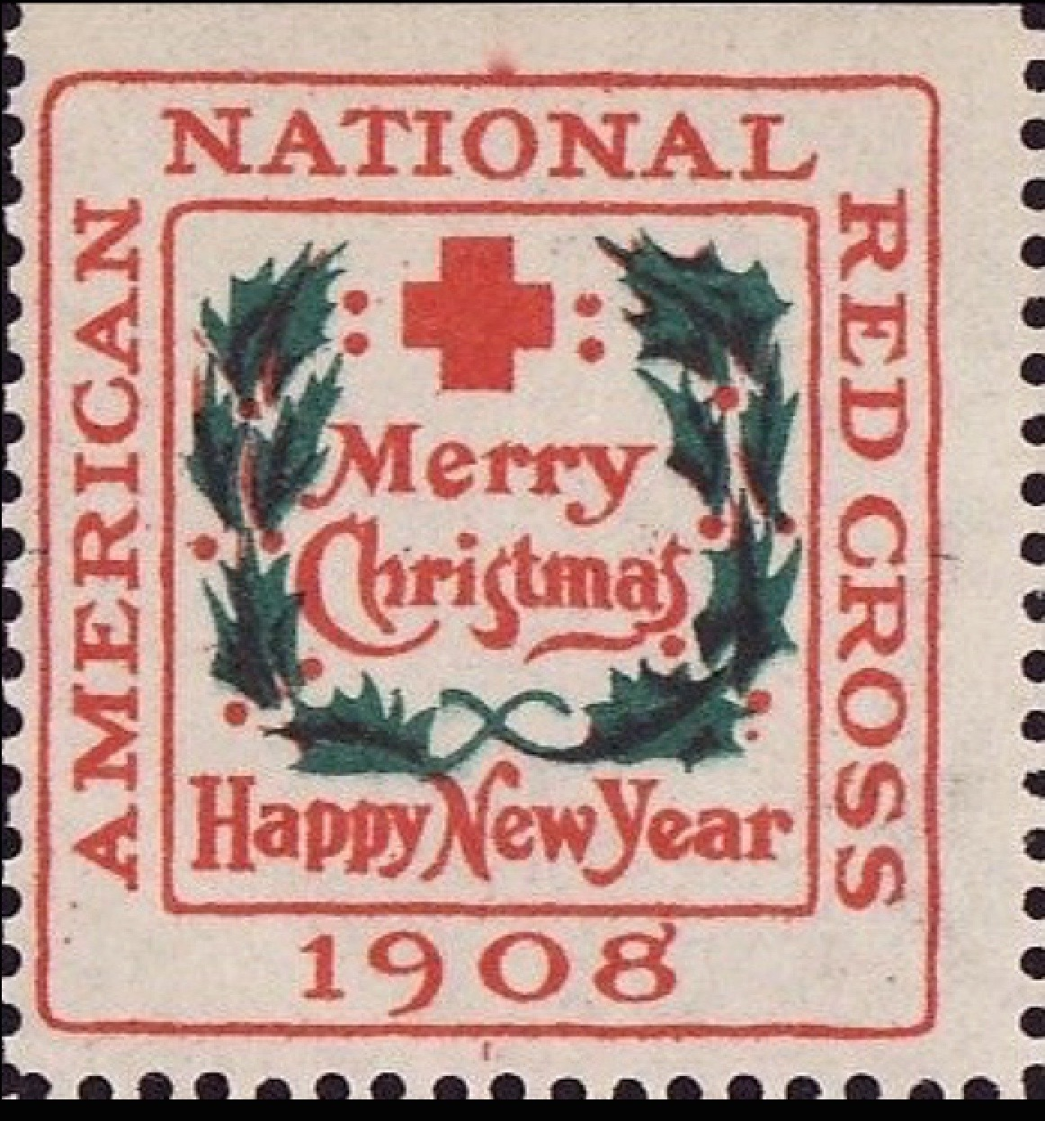 1908 Red Cross Christmas Seal