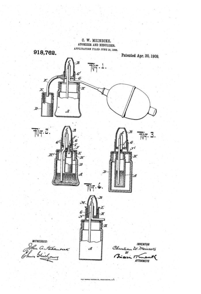 1909 Meinecke's Atomizer