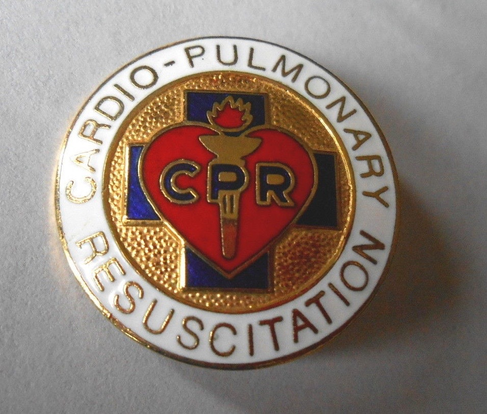 1970s CPR Pin