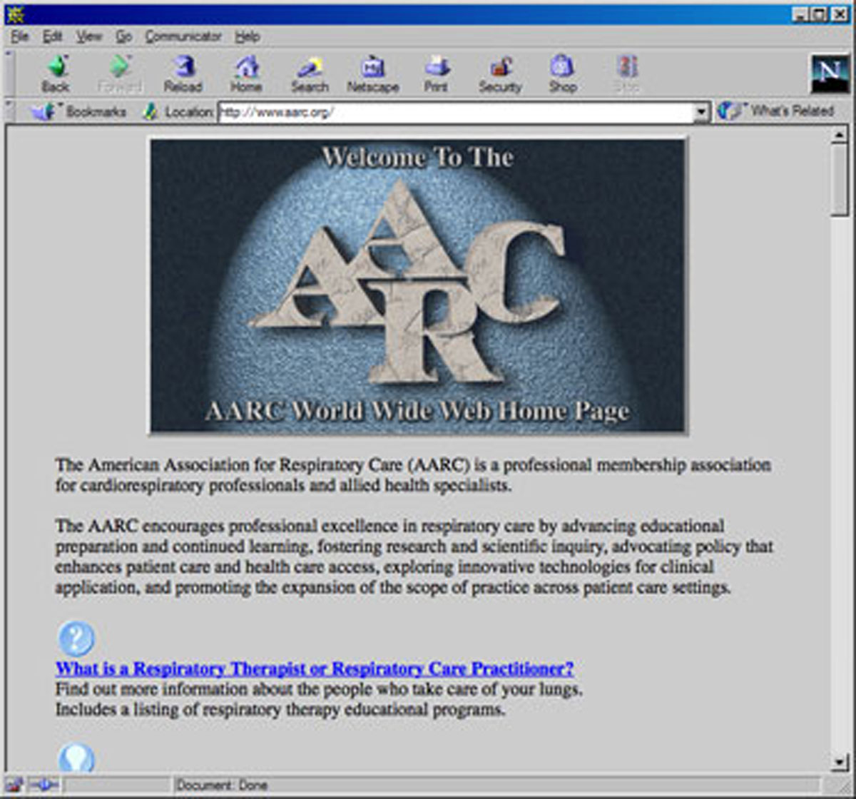 1996 Website Launched