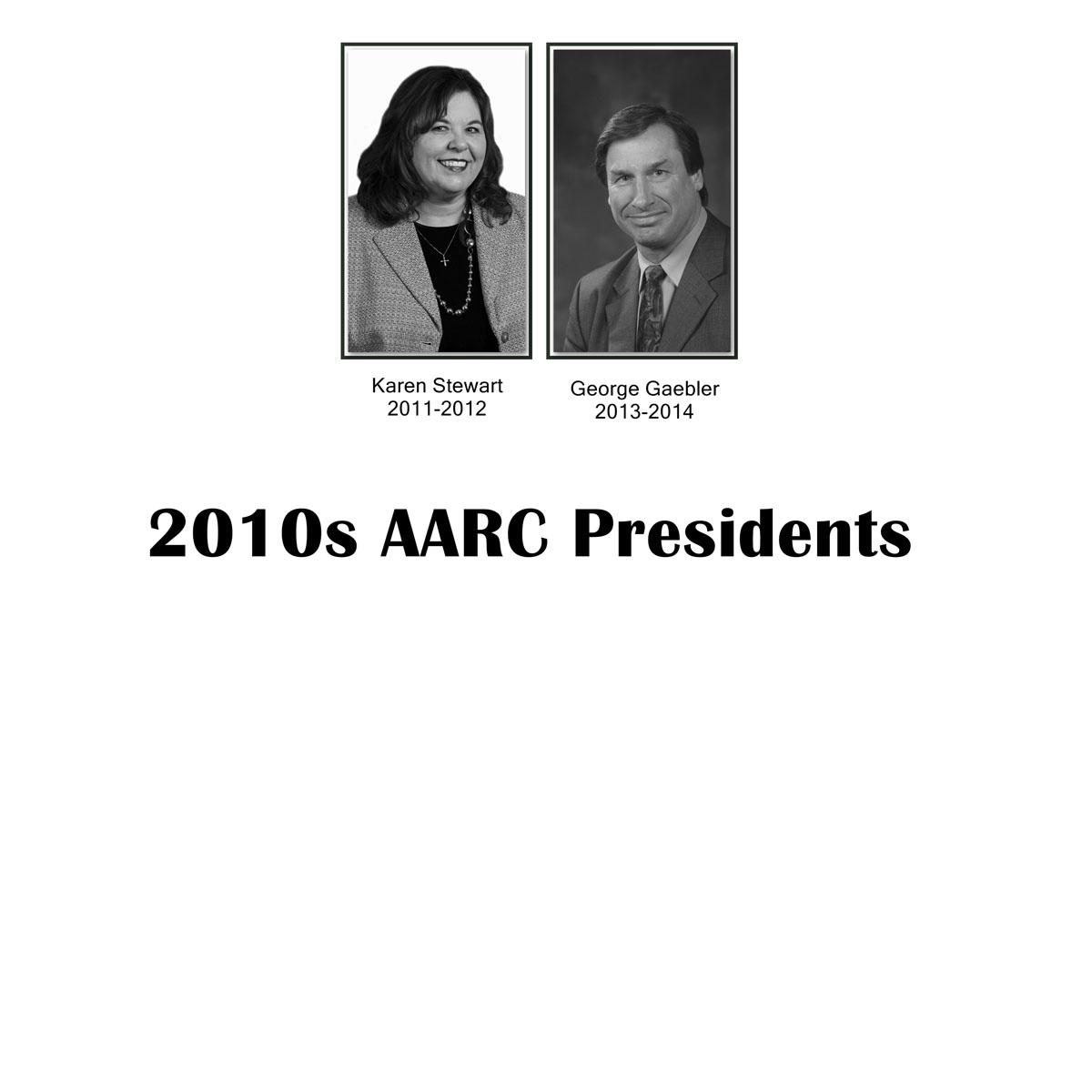 AARC Presidents 2010s