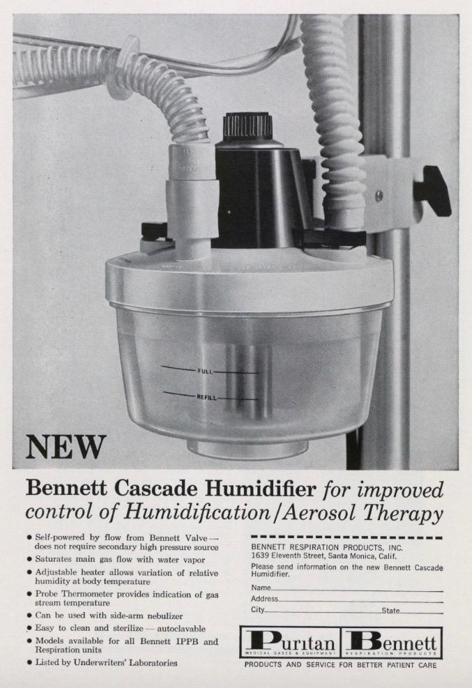 Bennett Cascade Humidifier