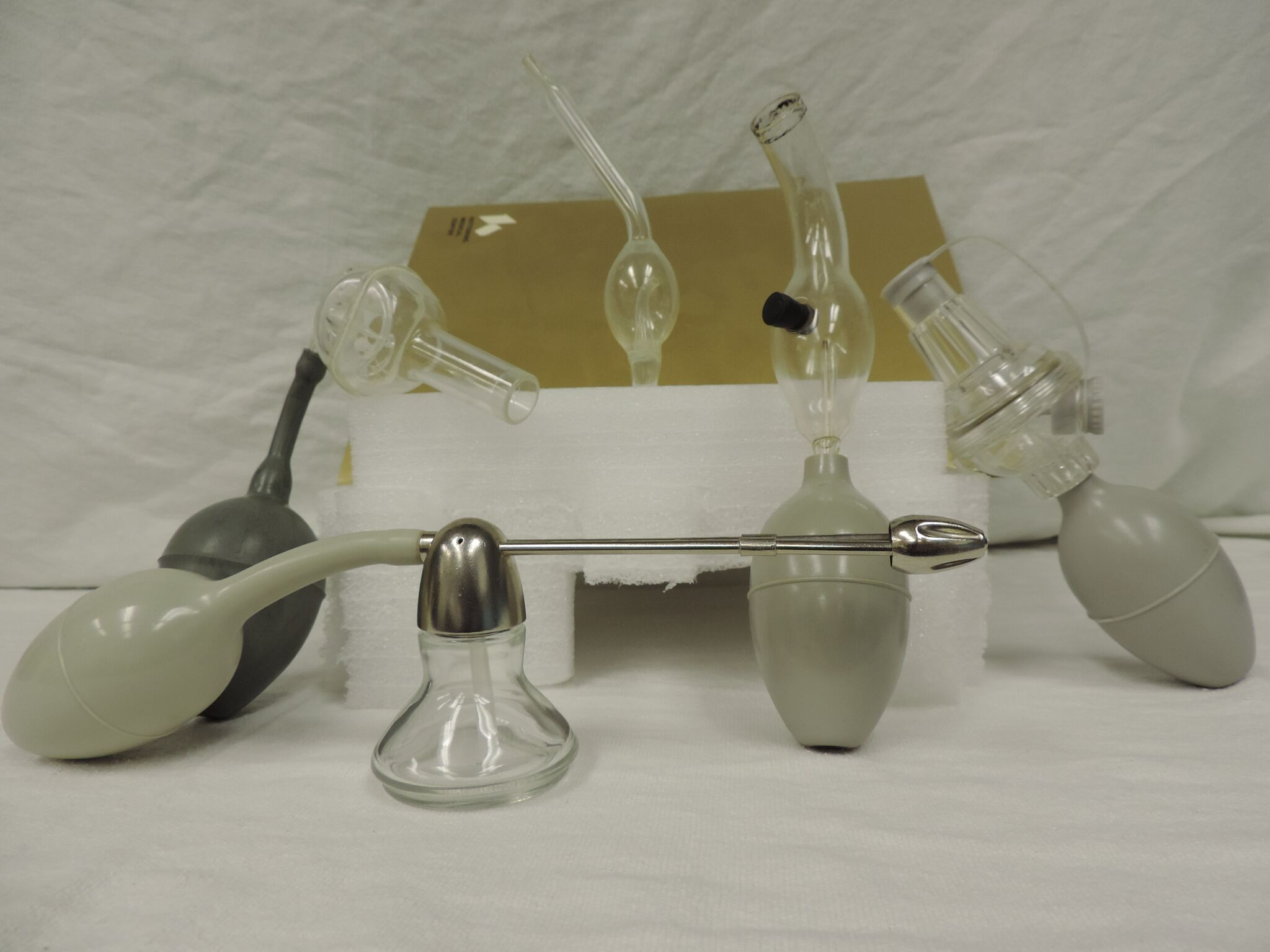 Assorted Atomizers and Nebulizers
