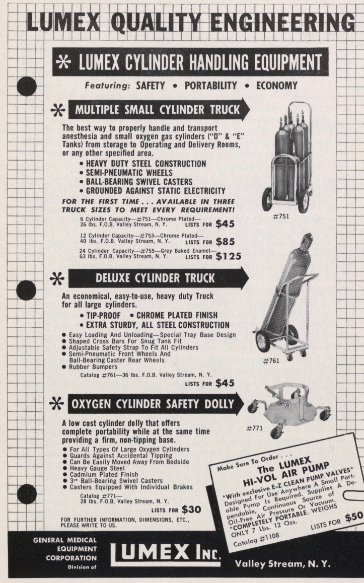 Cylinder Trucks and Dollies