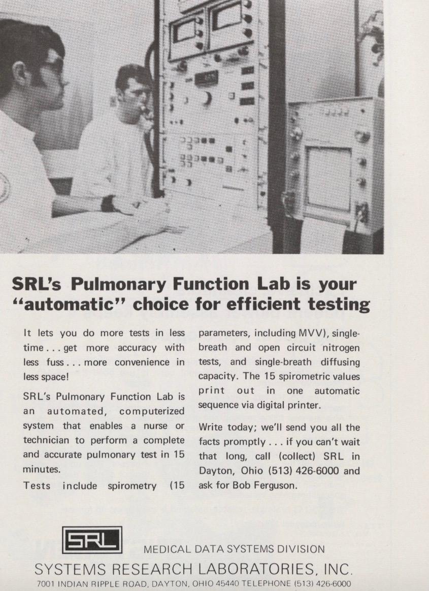 1970 SRL PFT Lab