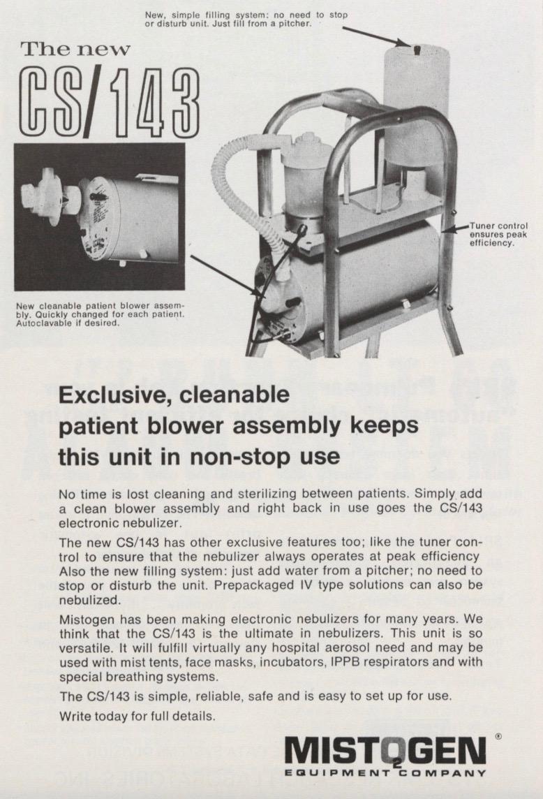 1970 Mistogen CS/143