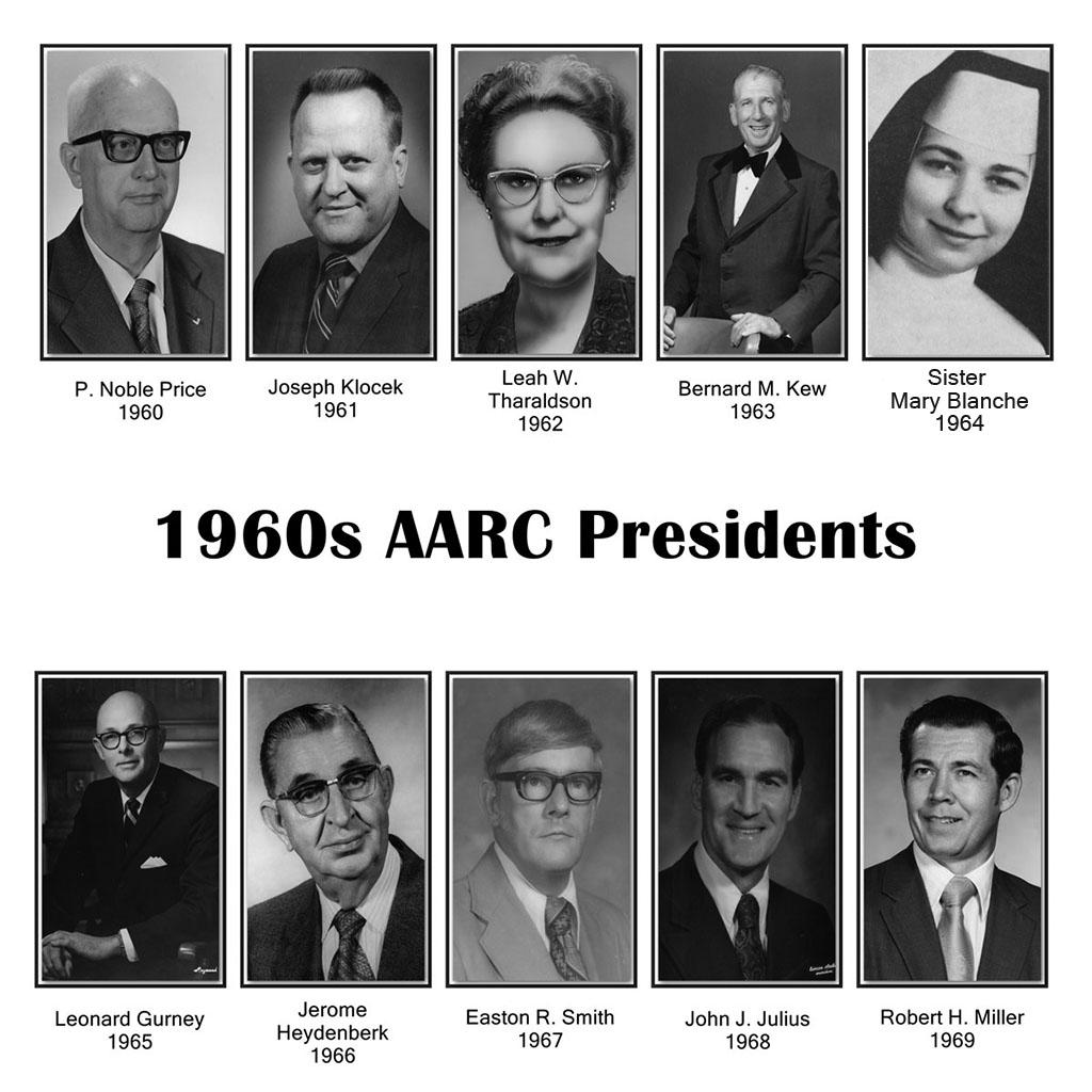 AARC Presidents 1960s