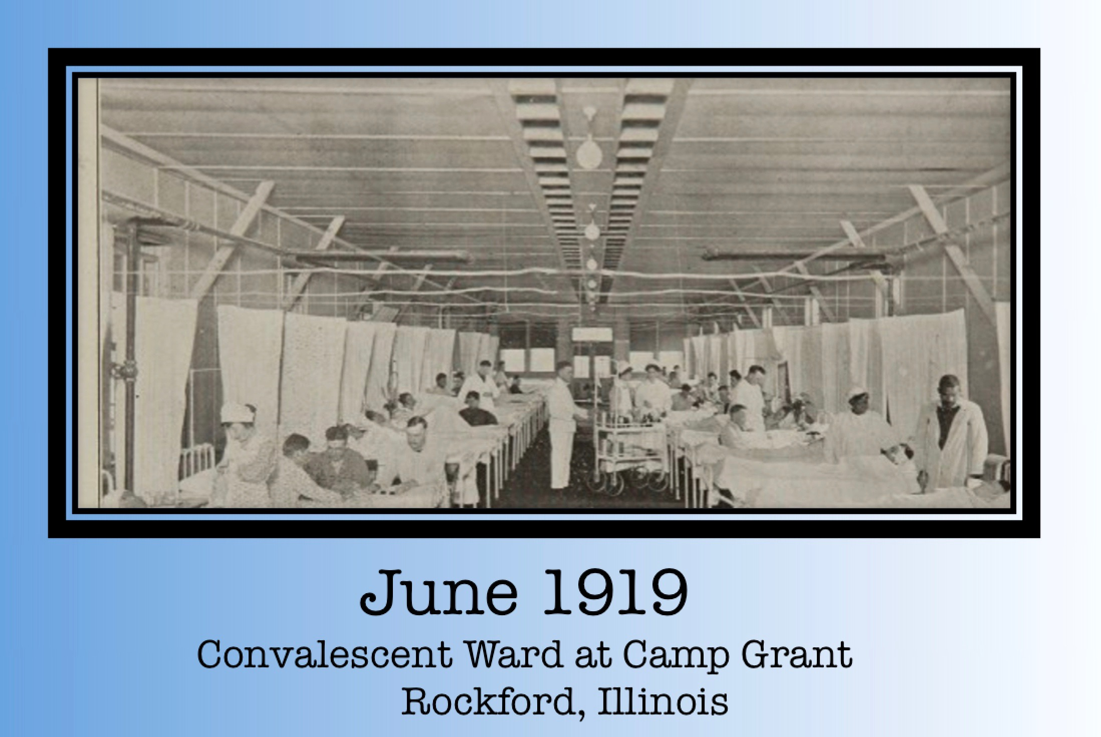 1919 Army Convalescent Ward
