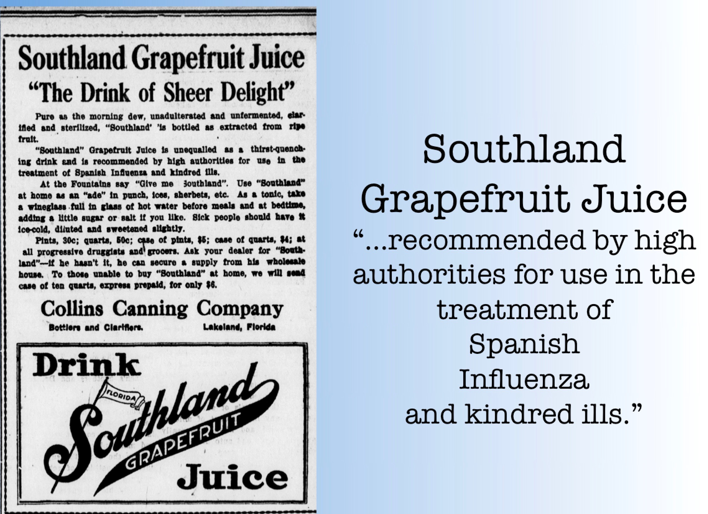Grapefruit Juice Treatment?