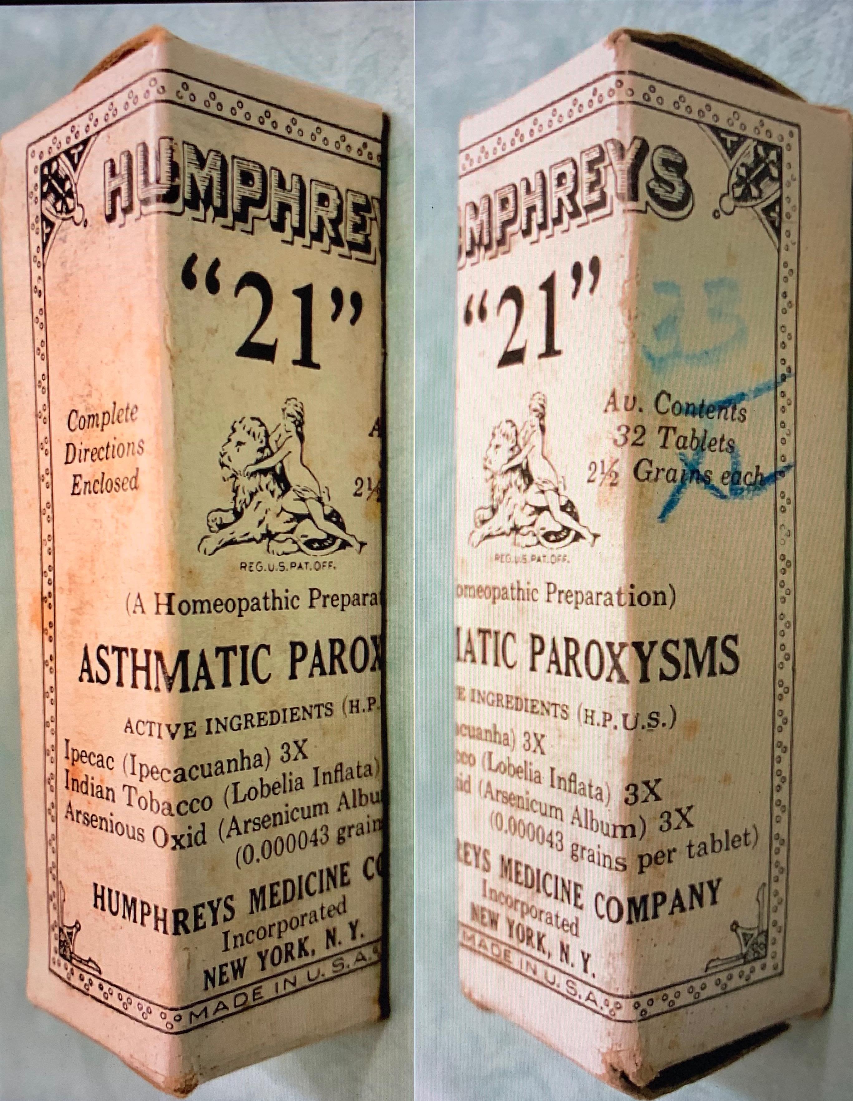 """Humphreys' """"21"""""""