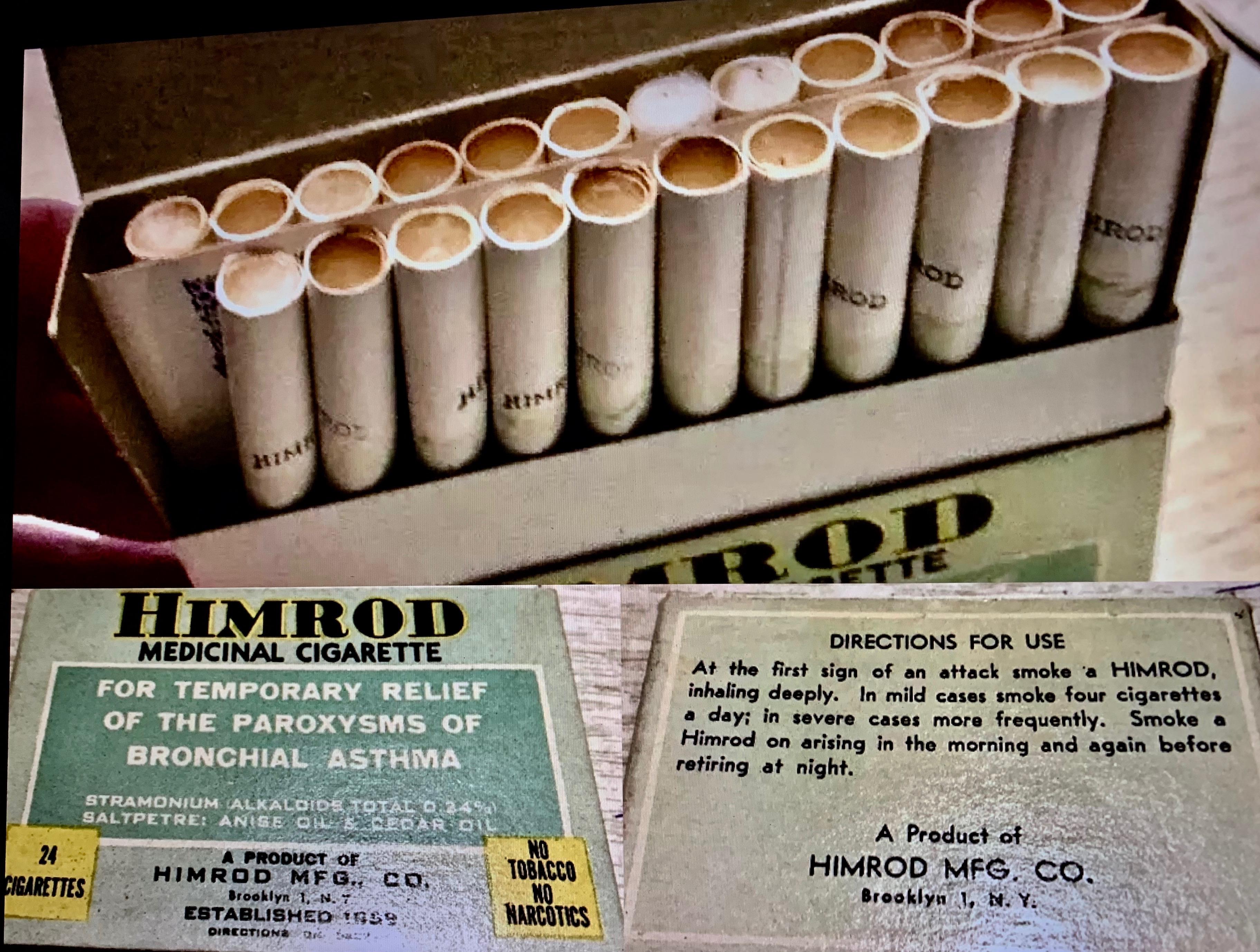 Himrod Medicinal Cigarettes
