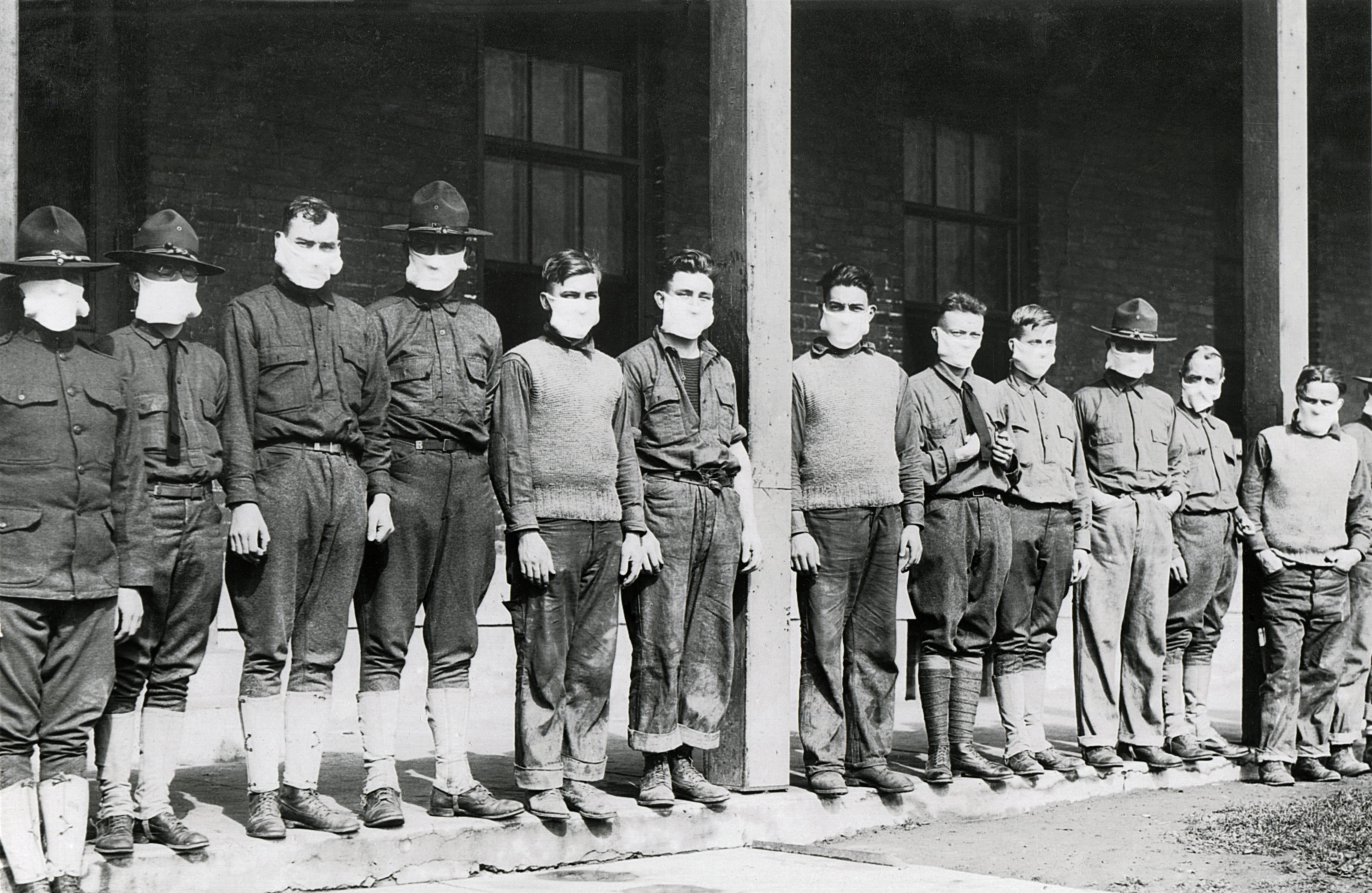 1918 Army Medical Staff