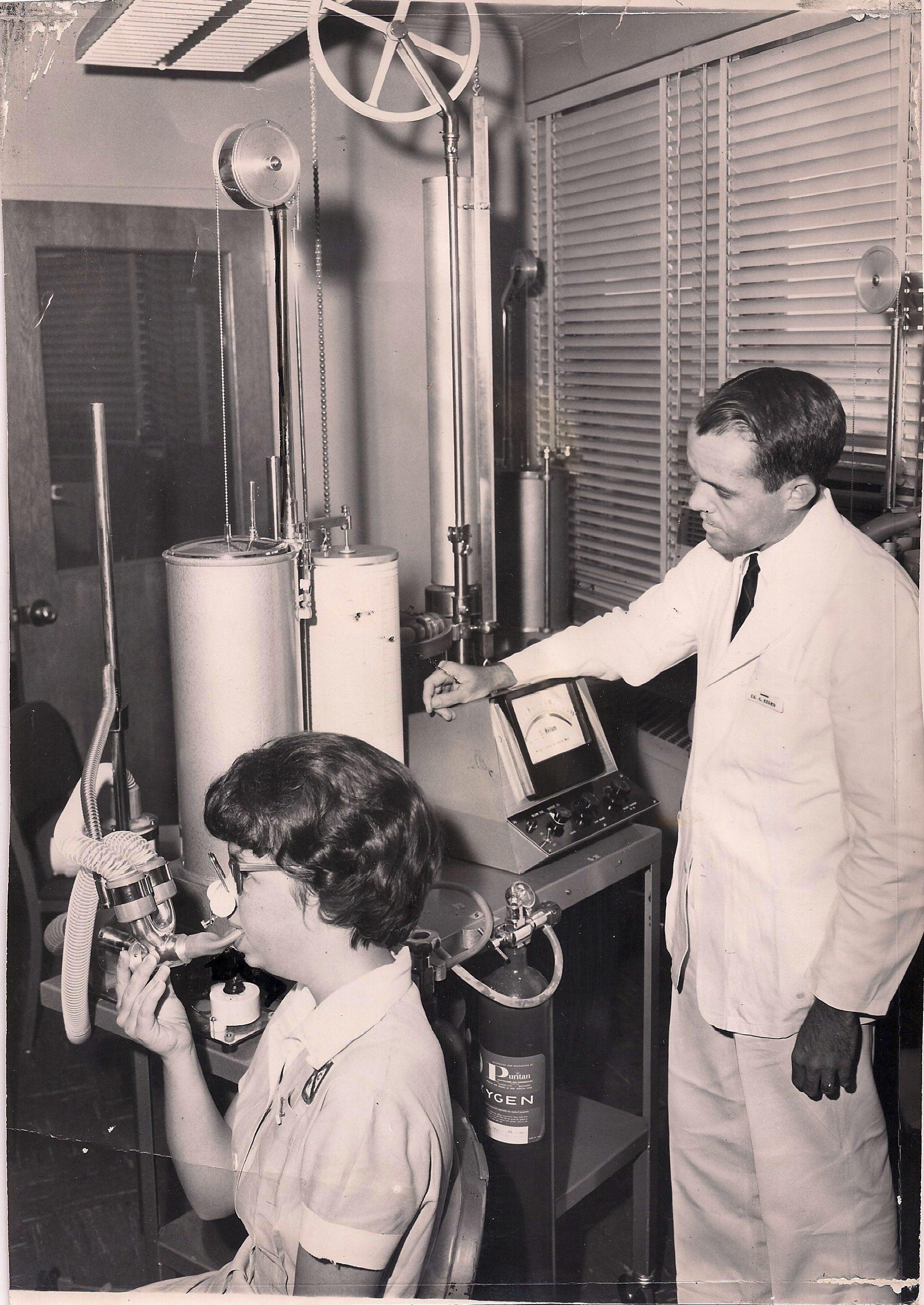 1960s Spirometry