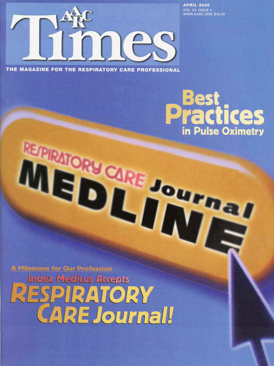 2000 Respiratory Care Journal Accepted into Index Medicus