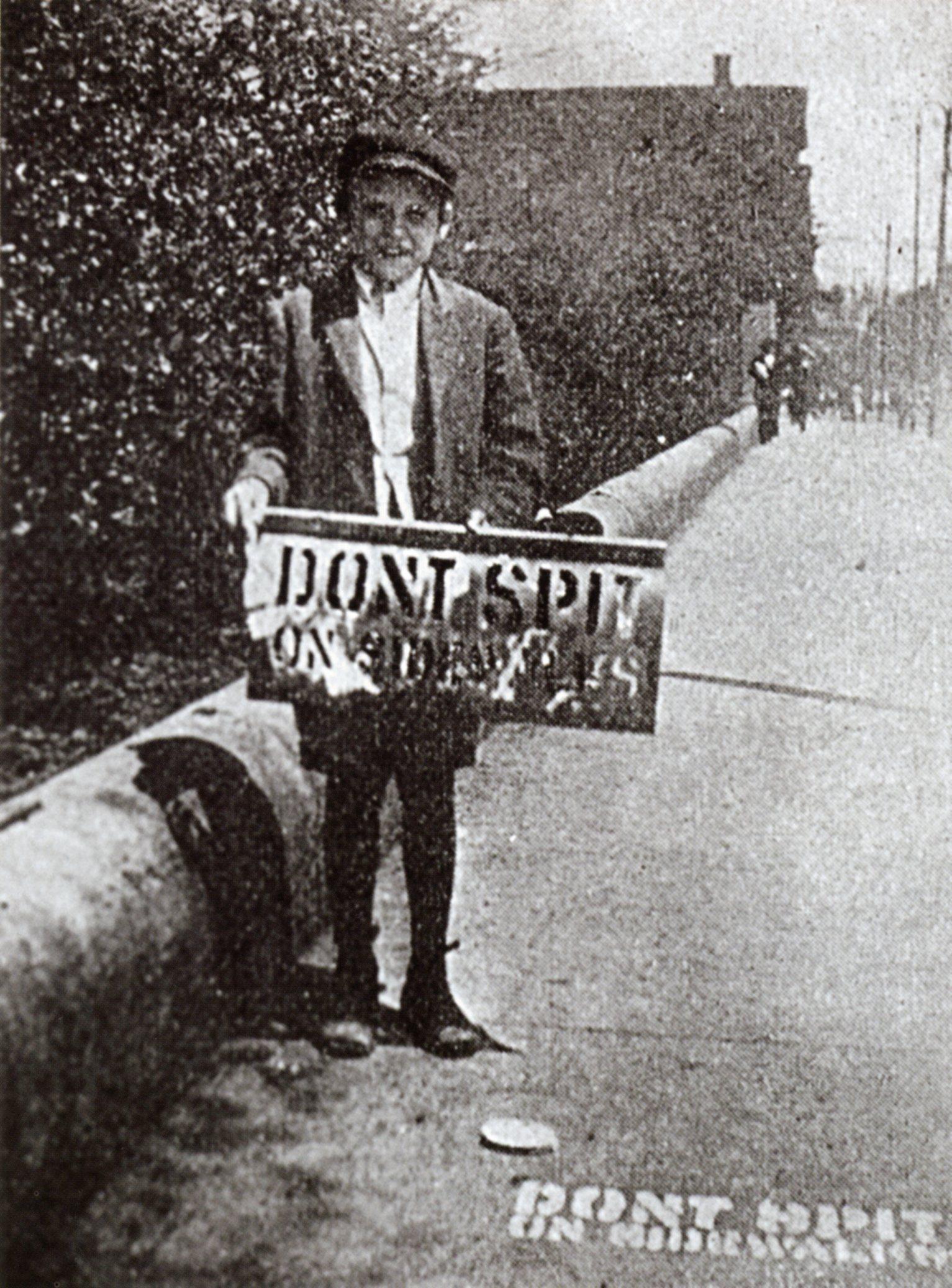 """1916 """"Don't Spit"""" Campaign"""