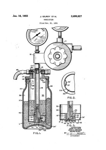 1955 Gilroy's Humidifier