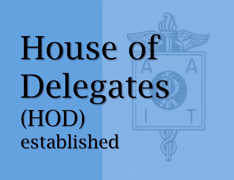 1966 AAIT established the HOD