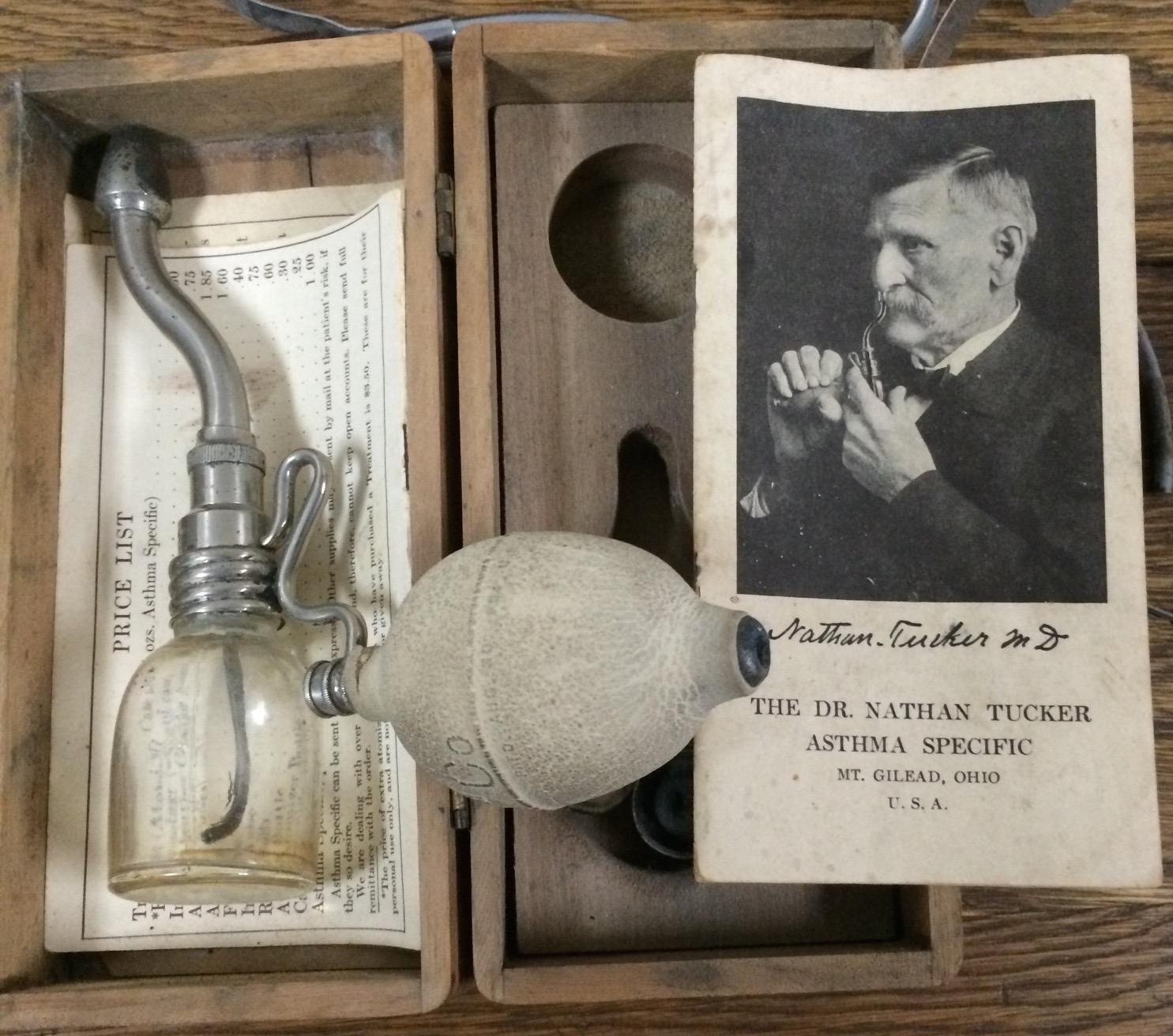 1889 Asthma Specific Inhaler