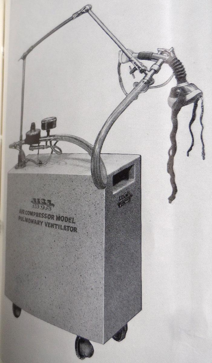 1950s M-S-A Compressor Model