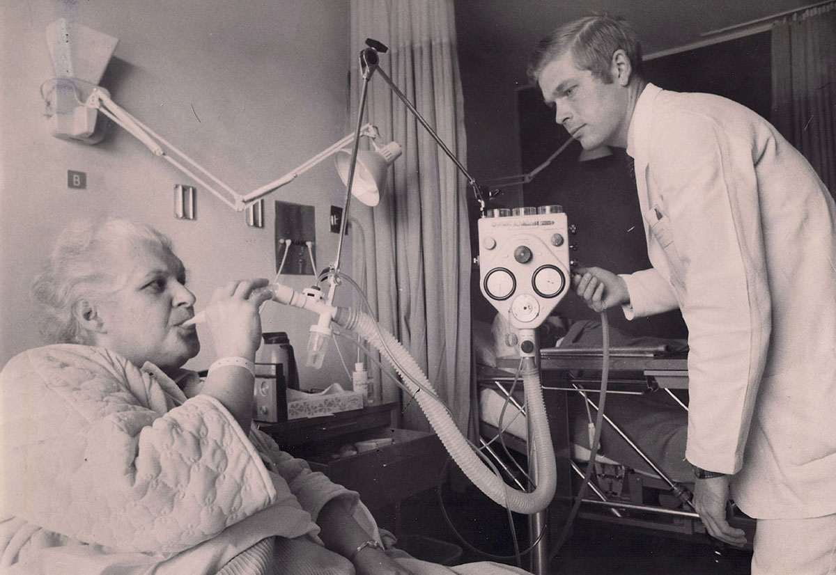 1970s IPPB Treatment via a Bennett PR-2