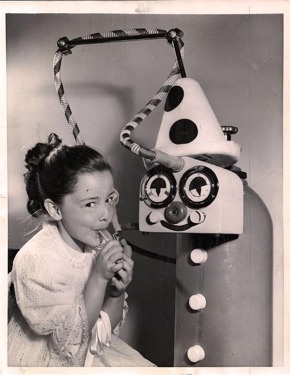 Late 1950s Pediatric VENTALUNG